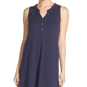 LILLY PULITZER NAVY SLEEVELESS ESSIE DRESS